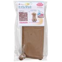 (まとめ)Pefami トイレマット03 レギュラー ブラウン (ペット用品)【×2セット】
