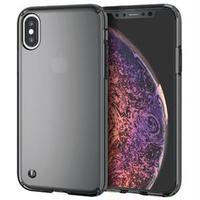 (まとめ)エレコム iPhone XS/ハイブリッドケース/ブラック PM-A18BHVCBK【×5セット】