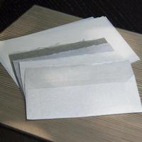 和紙便箋、封筒 前田崇治
