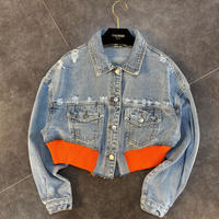 orange × denim JK