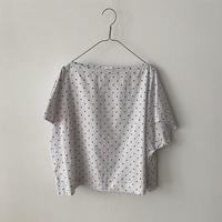 """HAU  blouse """"ebony dot"""""""