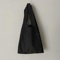yuni コットンキャプラ dot print bag