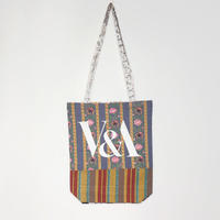 V&A THE FABRIC OF INDIA TOTE BAG/C