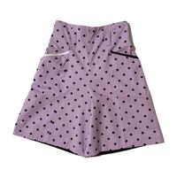 DOT short pants (purple)