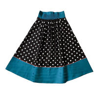 DOT flare skirt (black)