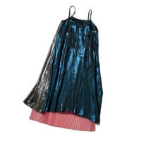 3 way metallic CAMI op (blue×silver×pink)