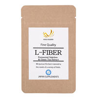 L-FIBER 酒粕発酵物 緑茶カテキン 難消化性デキストリン配合