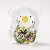 硝子のアマビエ(色付)/ 吉田 直隆