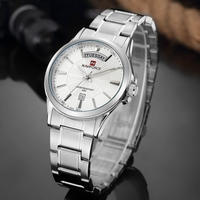 高級ブランド シルバー メンズ クォーツ腕時計 ビジネス ドレスシーン スポーツ選手も! 海外人気ブランド
