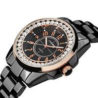 高級ドレスブランドファッション時計 レディースゴールドダイヤモンド ドレス時計