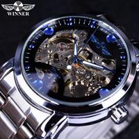 腕時計 海外ブランド メンズ 高級 Luxury Automatic Blue Ocean Casual Designer Stainless Steel Skeleton