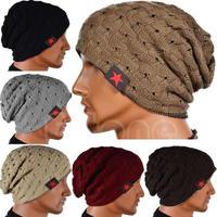 帽子 海外ブランド メンズ 選べる10色 男女兼用 ニット帽 ゆったり ビーニー ヒップホップキャップ
