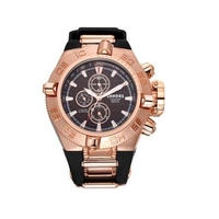 海外ブランド SHHORS メンズウォッチ トップブランド スポーツ 防水性 クォーツ腕時計 海外大人気 日本未入荷 ローズゴールド