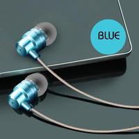 イヤホン 選べる6色 latest In-Ear MP3 computer bass mobile phone universal metal wire magic earplugs
