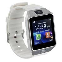カメラ付き スマートウォッチ DZ09 bluetooth同期 多機能腕時計 iphoneAndroid対応 スホーツウォッチ ホワイト_01