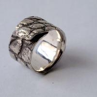 クロコ柄 ring