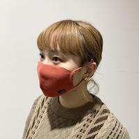 冬限定 快適ニットマスク(STL036 RED)