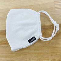 暖かニットマスク(STL023 WHITE)