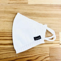 KNIT MASUKU(STL024 WHITE)1枚セット