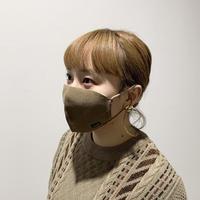 冬限定 快適ニットマスク(STL036 BROWN)