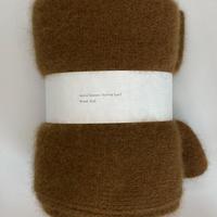 wool&raccoon knitted scarf