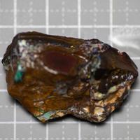 ボルダーオパール ヨワ 原石  240161