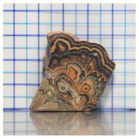 フラワーリングチューブオニキス 原石  M013