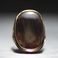 sunstone k10 engraving ring  045