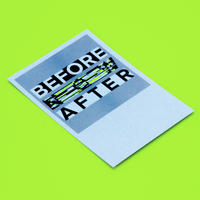 SHIRITORI GRAPHICS #10 BEFORE AFTER