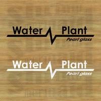 ステッカーシート / Water Plant +文字 / 背景抜き
