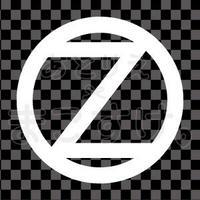 シンプル/白/png/Z