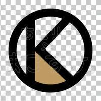 シンプル/色付き黒/png/K