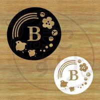 ステッカー・アイロンシート / 和風 / B