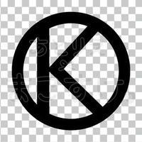 シンプル/黒/png/K