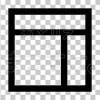 和モダン/黒/png/T