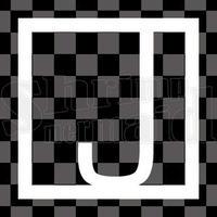 和モダン/白/png/J