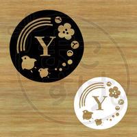 ステッカー・アイロンシート / 和風 / Y