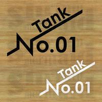 ステッカーシート / TankNo.01~99 / 背景抜き