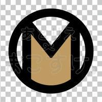 シンプル/色付き黒/png/M