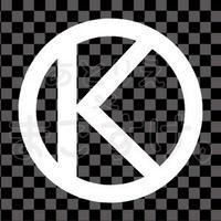 シンプル/白/png/K