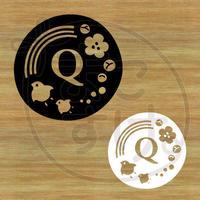 ステッカー・アイロンシート / 和風 / Q