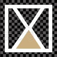 和モダン/色付き白/png/X