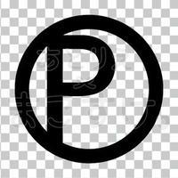 シンプル/黒/png/P