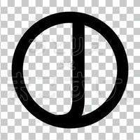 シンプル/黒/png/J