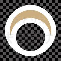 シンプル/色付き白/png/O