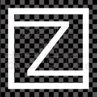 和モダン/白/png/Z