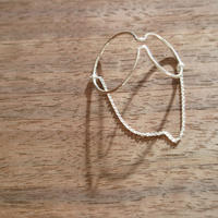 Saskia Diez/Wire Earcuff Double No2 Chained