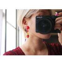 BAKELITE drop earrings