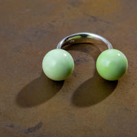 Saskia Diez/SLING RING/LIME