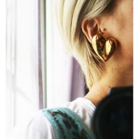 Christian Lacroix heart earrings